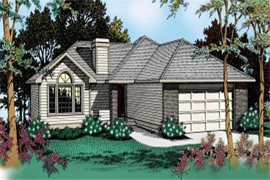 Main image for house plan # 2012