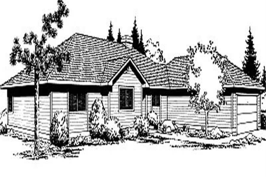 Main image for house plan # 2011