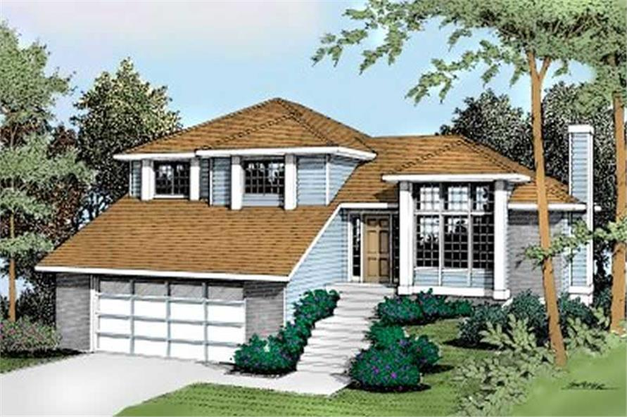 Main image for house plan # 2033