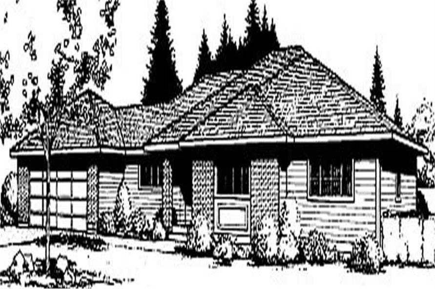 Main image for house plan # 1995