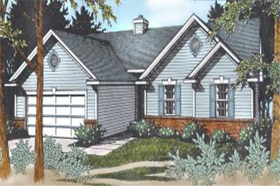 Main image for house plan # 1991