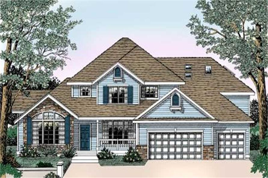 Main image for house plan # 2106