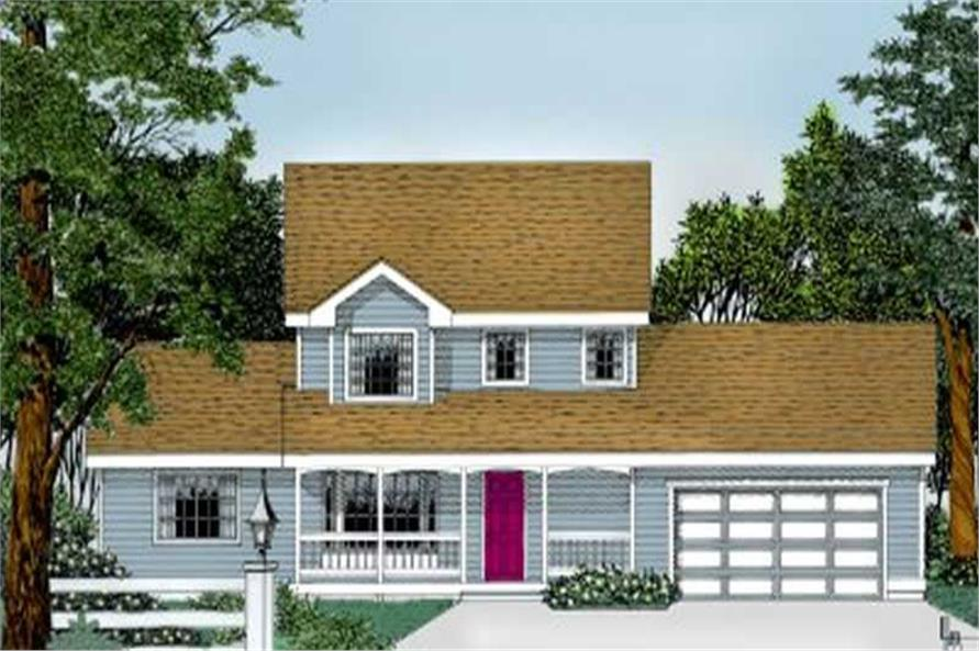 Main image for house plan # 2030