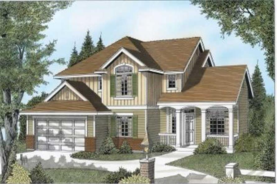 Main image for house plan # 2075