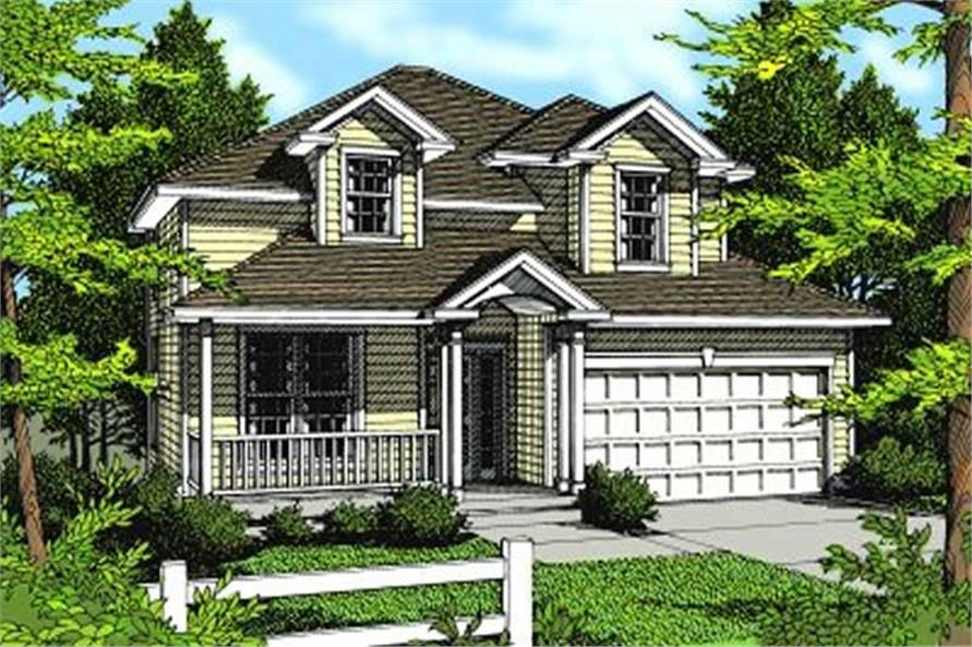 Main image for house plan # 2067