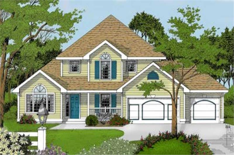 Main image for house plan # 2061