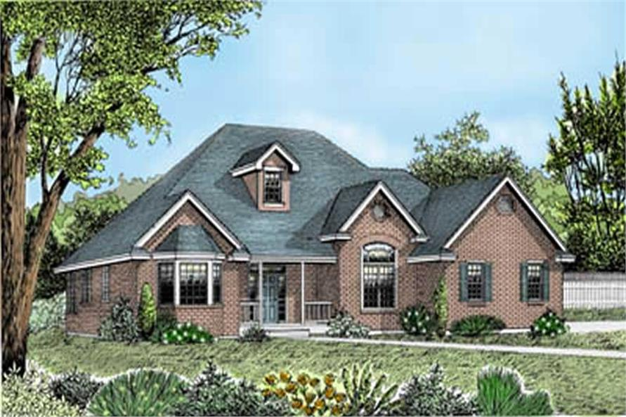 Main image for house plan # 2056