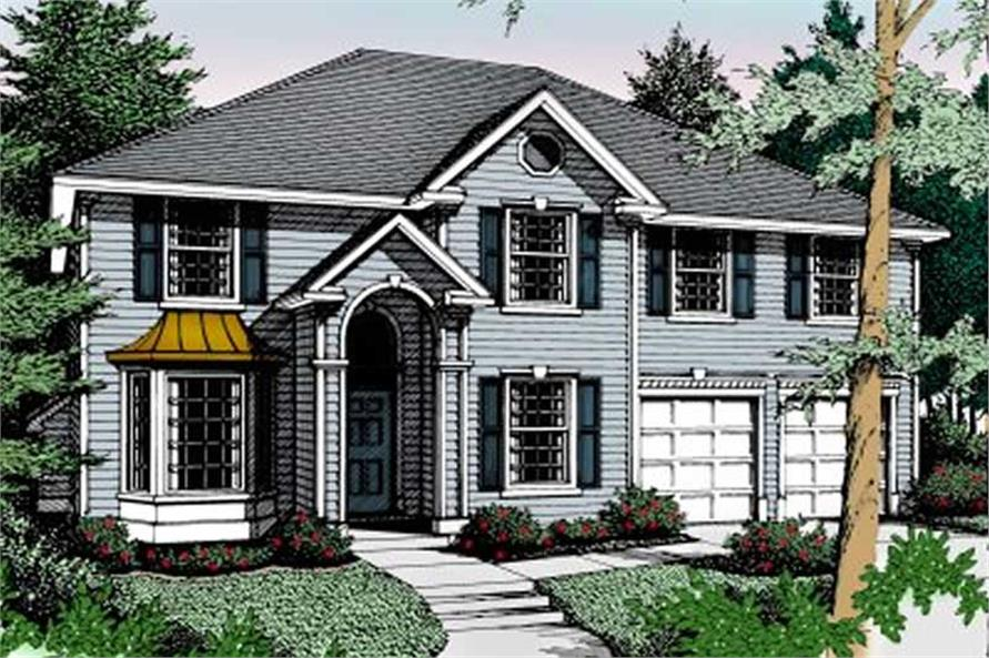Main image for house plan # 2110