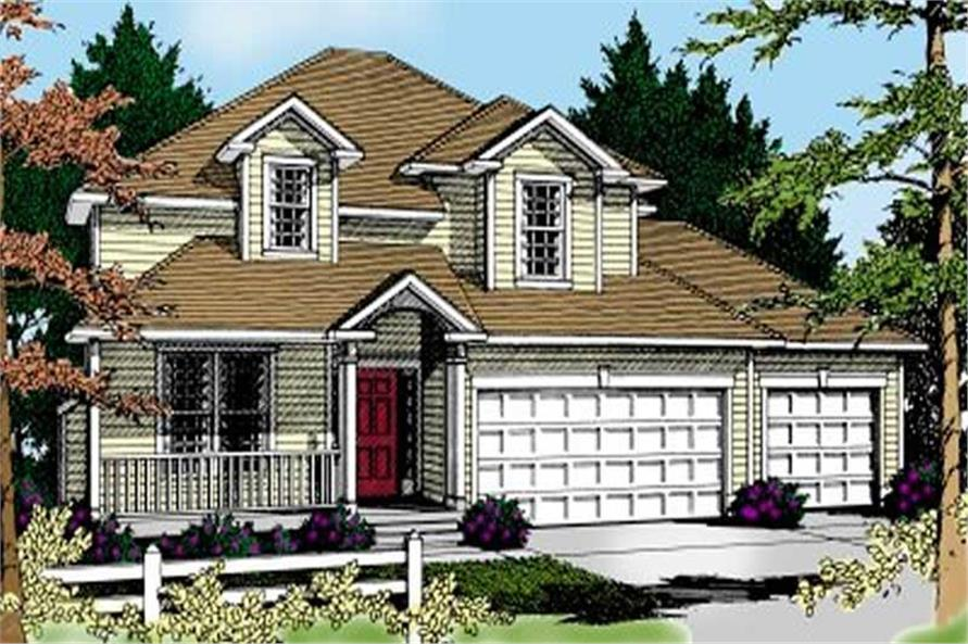 Main image for house plan # 2090