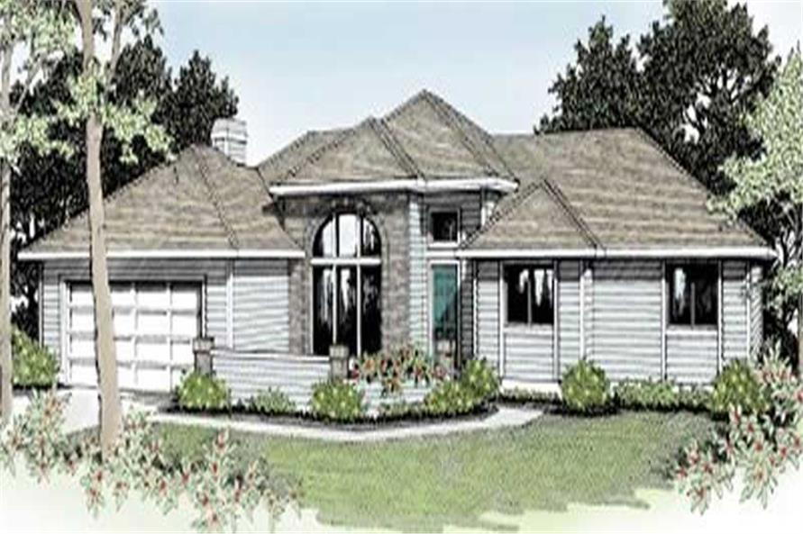 Main image for house plan # 2002