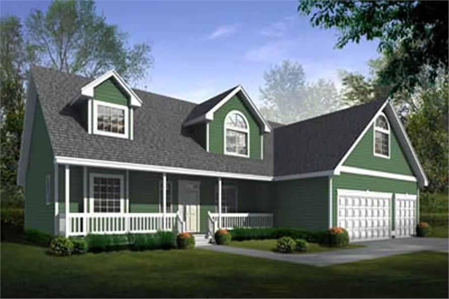 Main image for house plan # 2098
