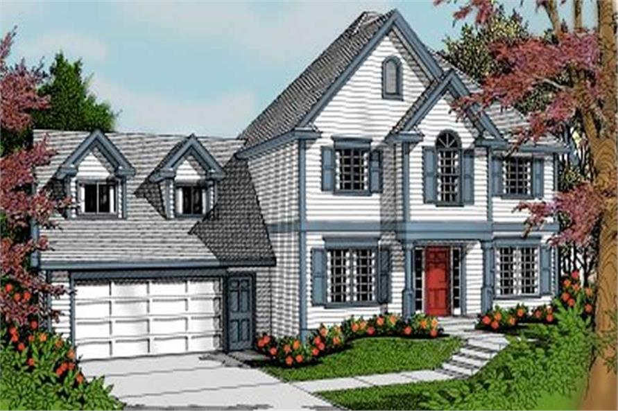 Main image for house plan # 2060
