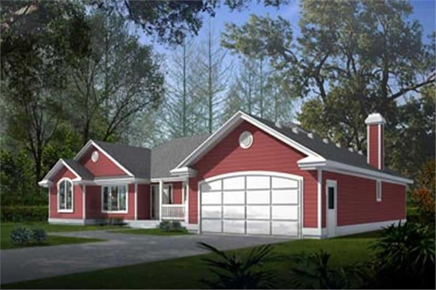 Main image for house plan # 2045