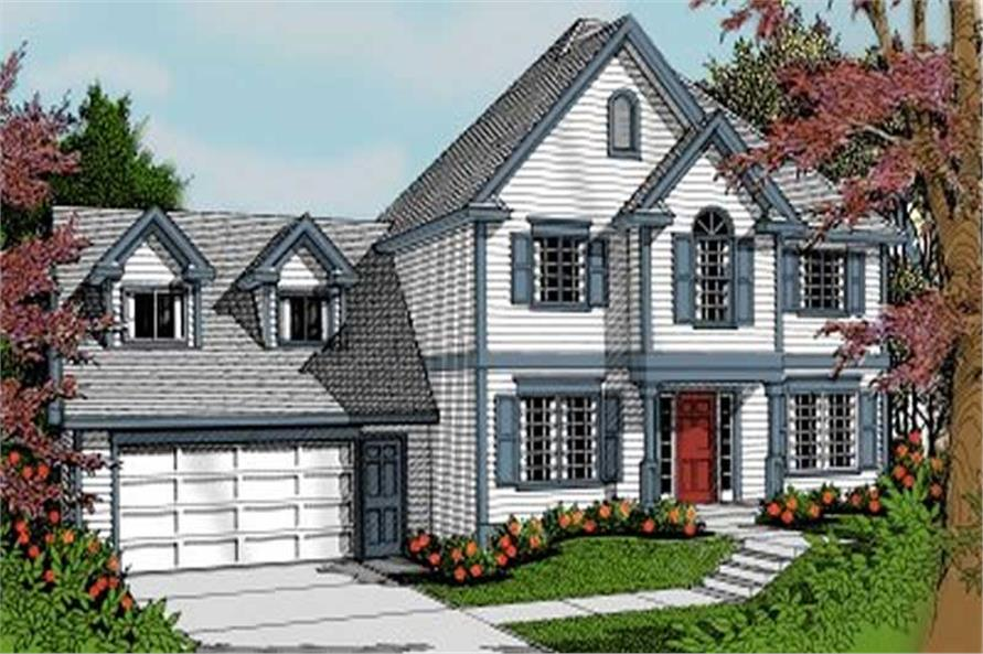Main image for house plan # 2034