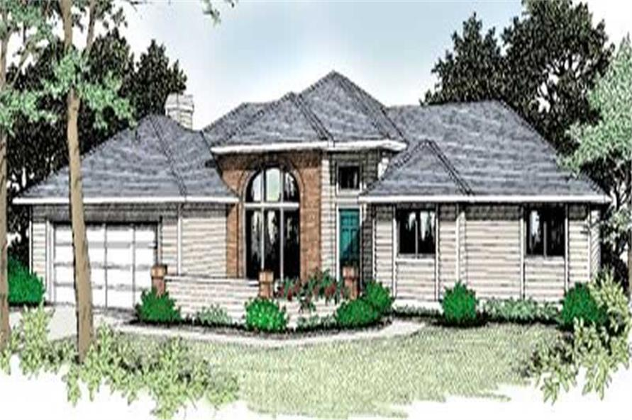 Main image for house plan # 2031