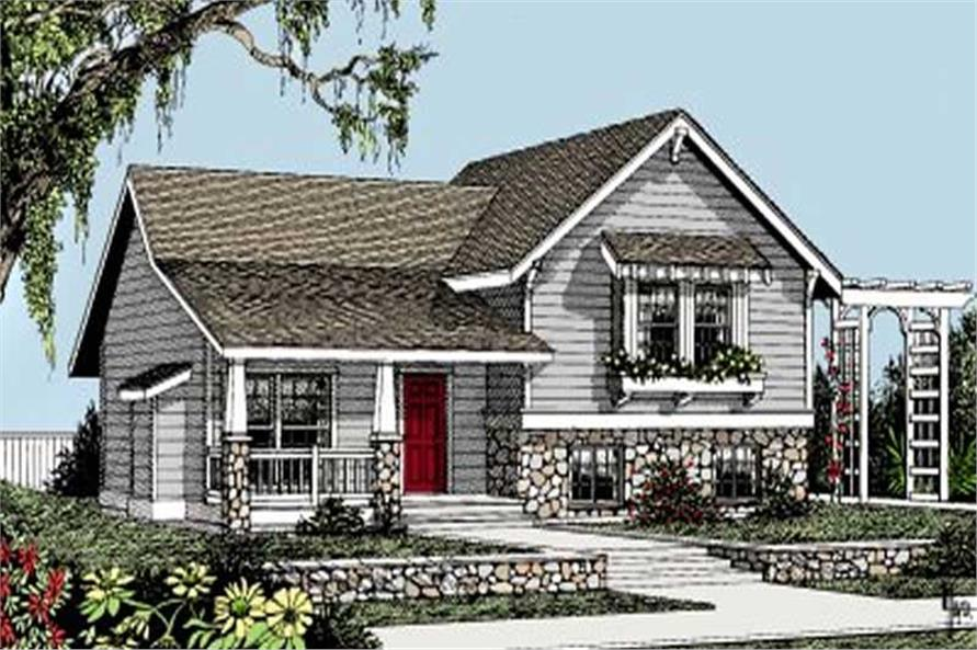 Main image for house plan # 1967