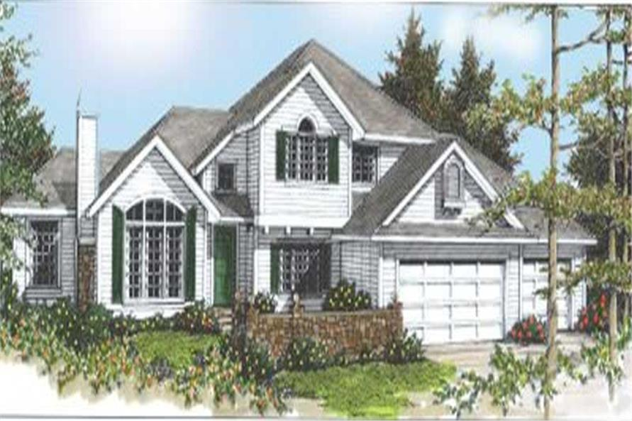 Main image for house plan # 2080