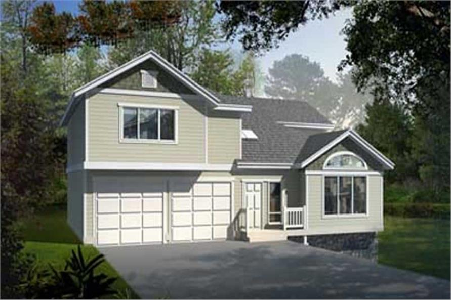 Main image for house plan # 14554