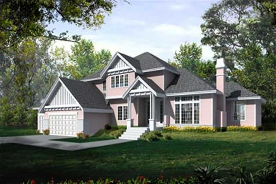 Main image for house plan # 14559