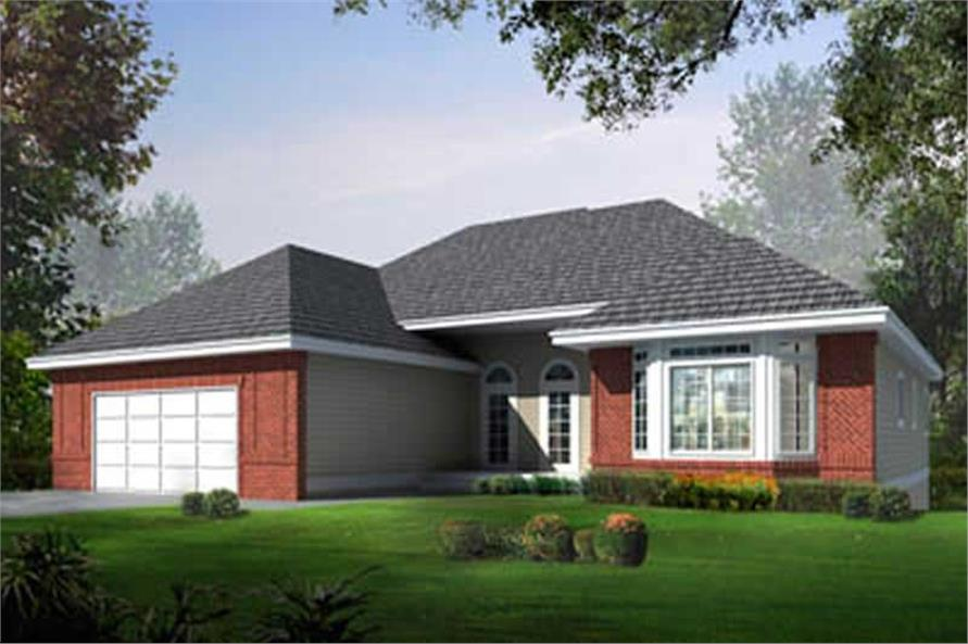 Main image for house plan # 16960