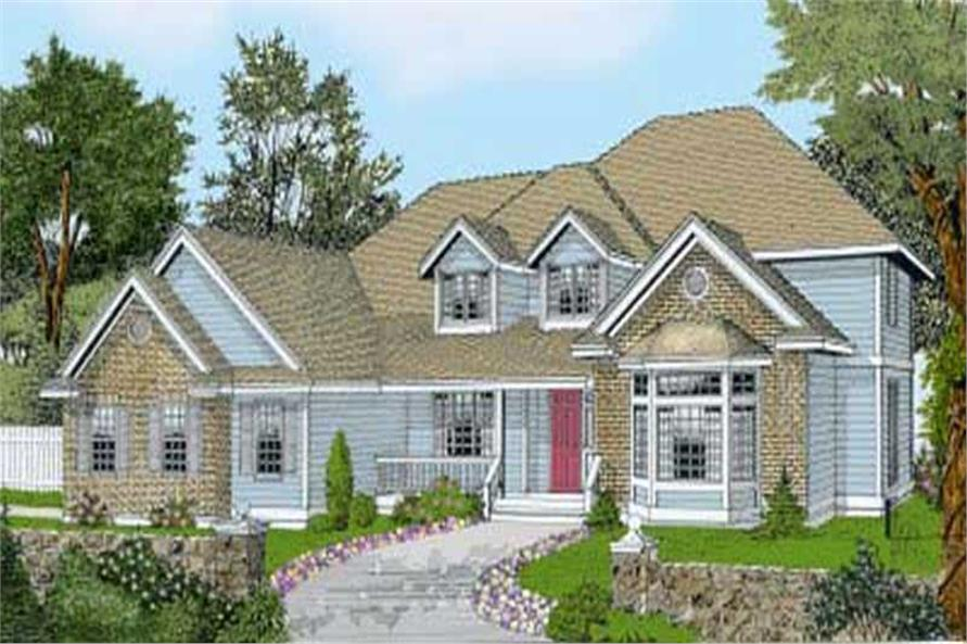Main image for house plan # 14524
