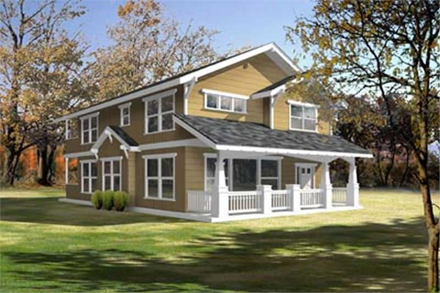 Main image for house plan # 14536