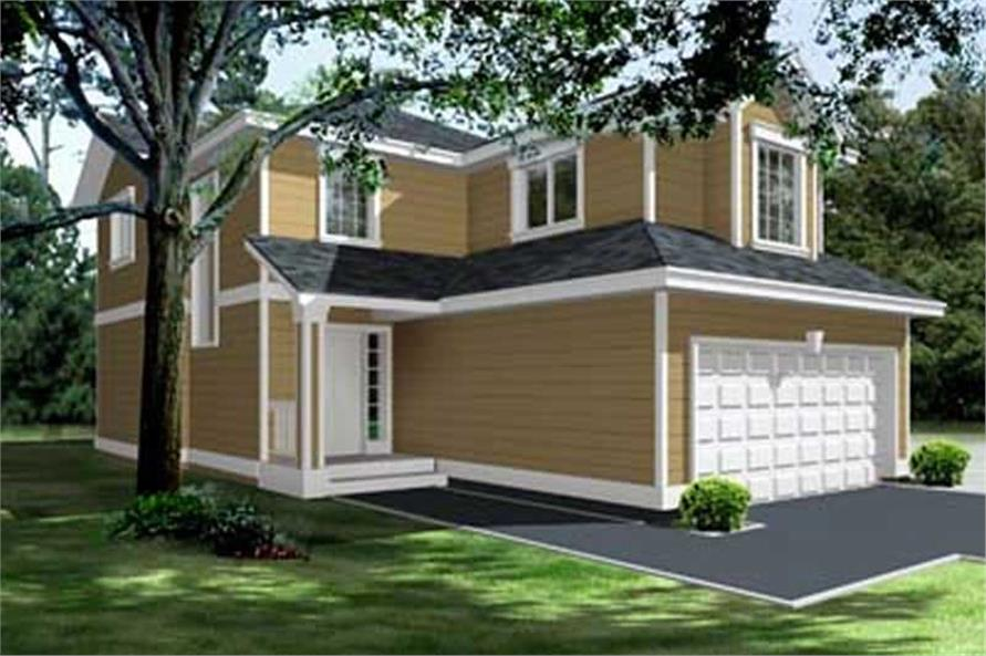 Main image for house plan # 14537
