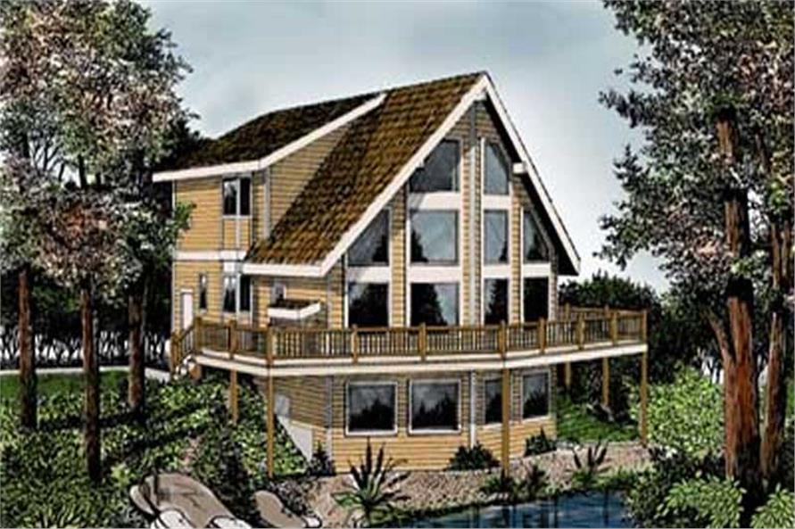 Main image for house plan # 14528