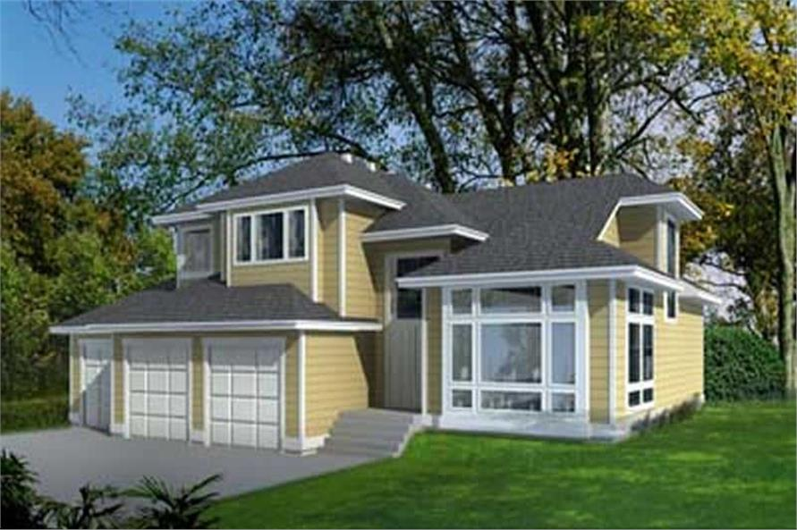 Main image for house plan # 14550
