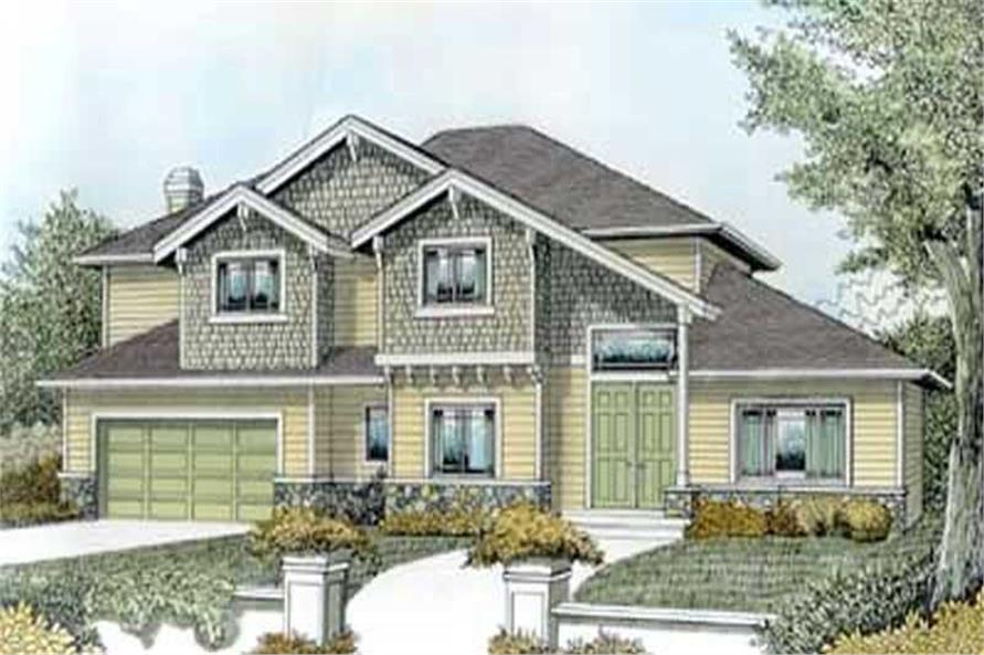 Main image for house plan # 14540