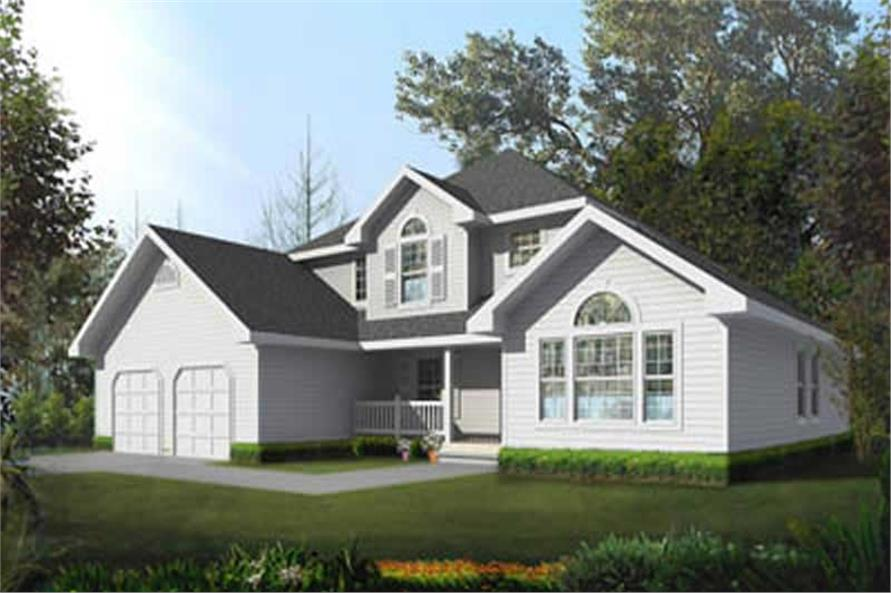 Main image for house plan # 17127