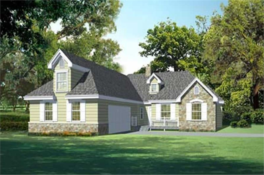 Main image for house plan # 14523