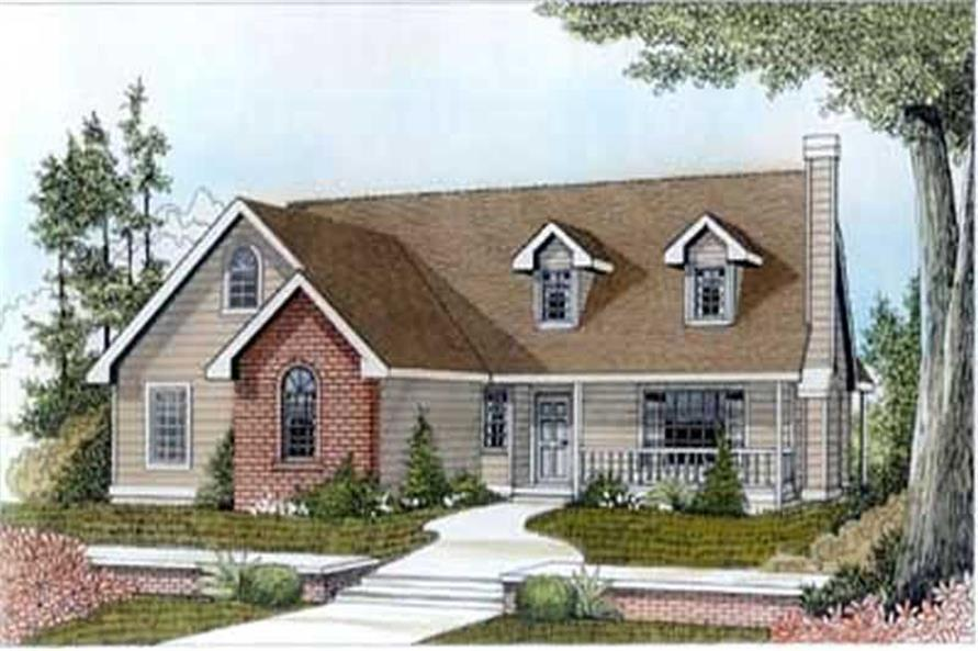 Main image for house plan # 14527