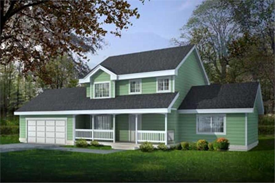 Main image for house plan # 14553