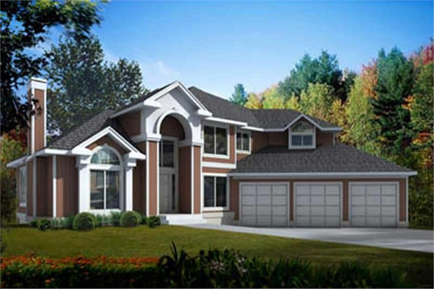 Main image for house plan # 17147