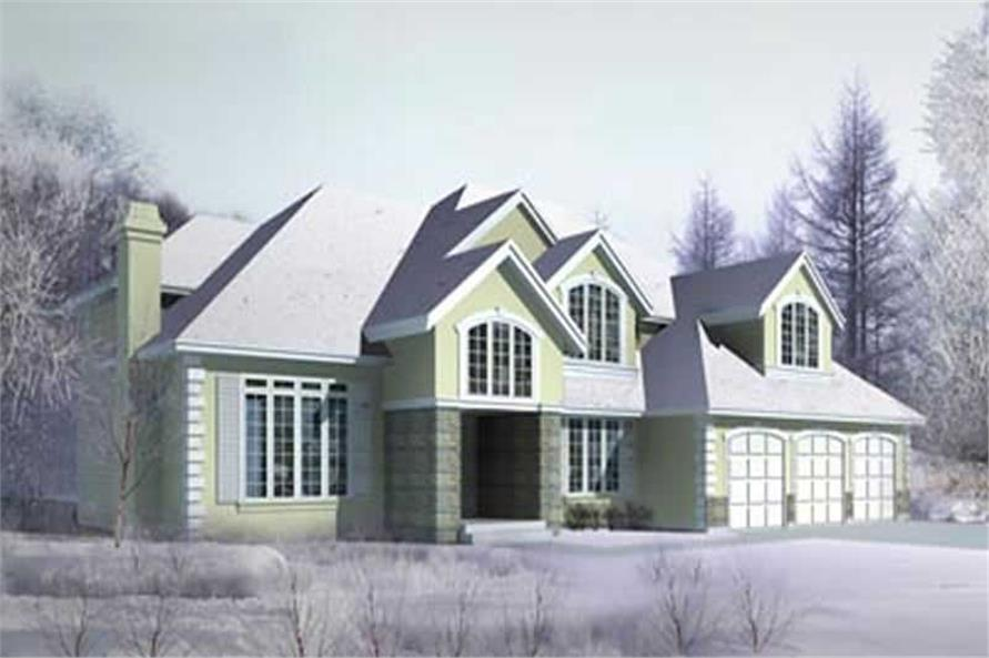 Main image for house plan # 14531