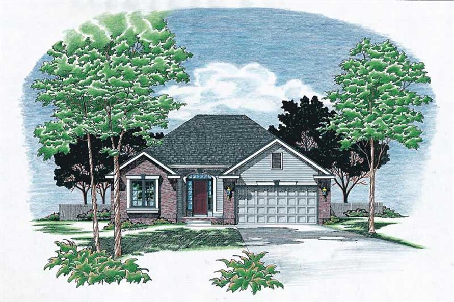 Main image for house plan # 5898