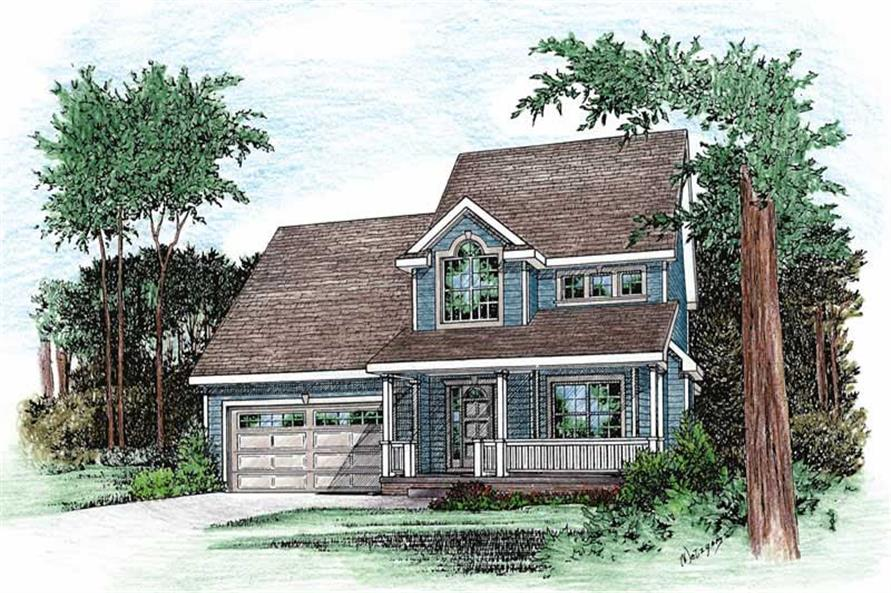 Main image for house plan # 5488