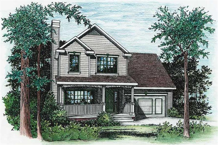 Main image for house plan # 5487