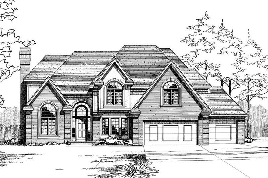 Main image for house plan # 5285