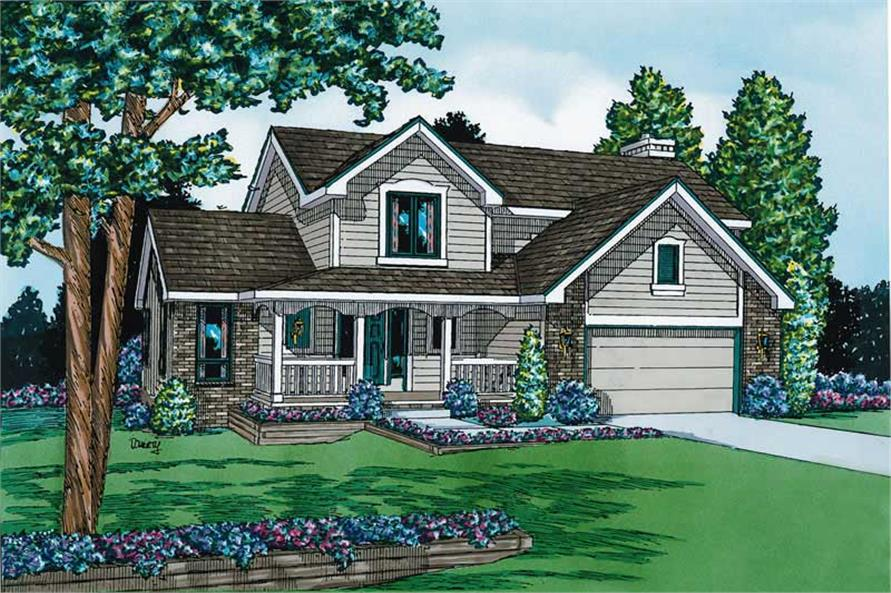 Main image for house plan # 5701