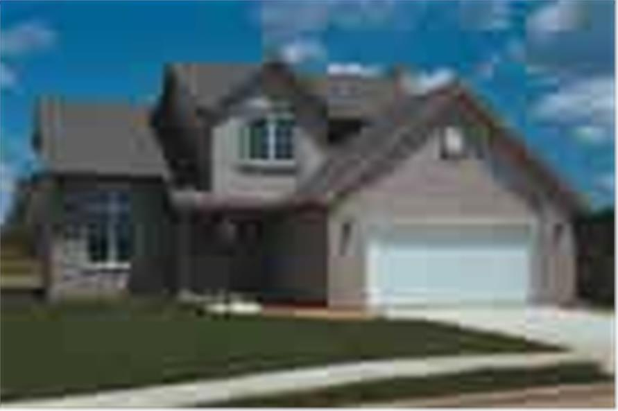 Main image for house plan # 5703