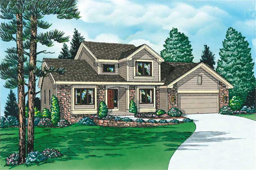 Main image for house plan # 5726