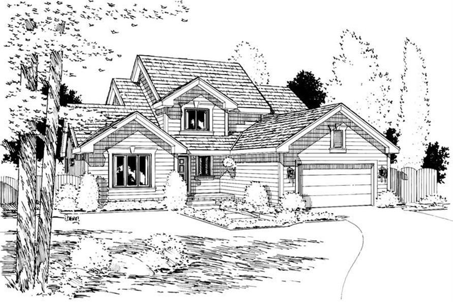 Main image for house plan # 5727