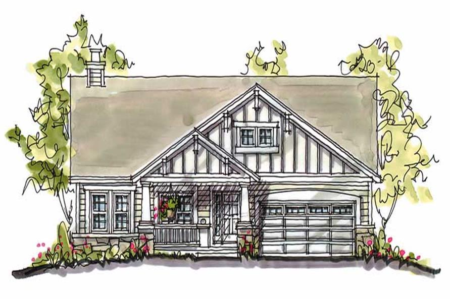 Main image for house plan # 5771