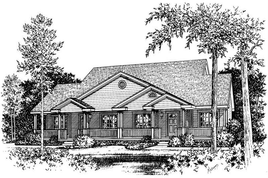 Main image for house plan # 5504