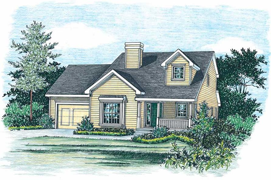 Main image for house plan # 5516