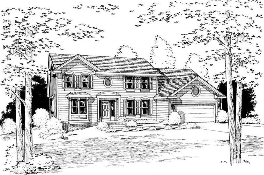 Main image for house plan # 5635