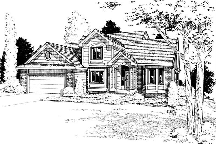 Main image for house plan # 5637