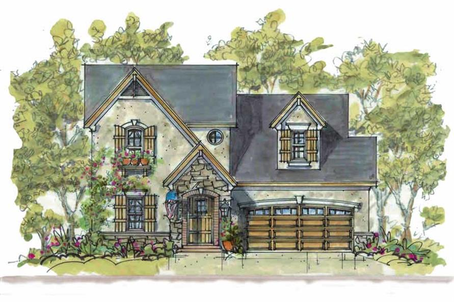 Main image for house plan # 5817